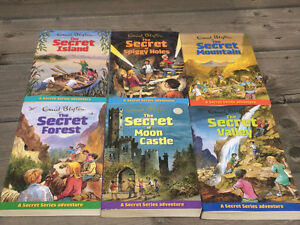 Enid Blyton Adventure series for preteens and early teen years