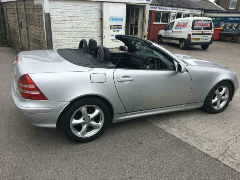 02 Mercedes Benz Slk230 Kompressor 2 3 Auto Convertible Very Clean Car 1495 In Thornton Cleveleys Lancashire Gumtree