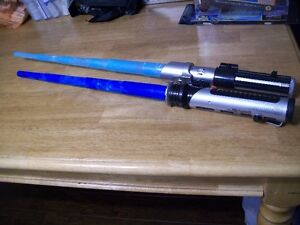 Lightsabers and worm home