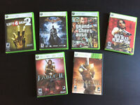 X360 Xbox 360 Games Jeux Fable Red Dead Redemption