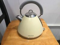 Morphy Richards cream Electric kettle