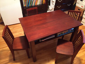 Solid Wood Children's Table