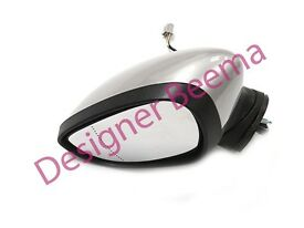Fiesta MK7 MK8 Passenger Left Wing Door Mirror Moondust Silver 2013>2017