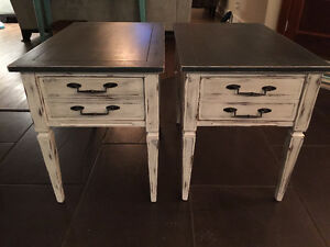 2 Refurbished Side Tables