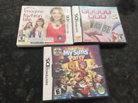 3 Nintendo ds games for $10 for all 3 and not each.