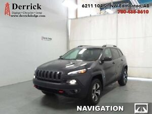 2014 Jeep Cherokee   SUV Trailhawk Technology Group Lthr  $192.8