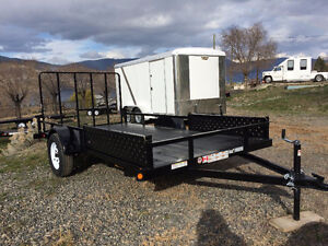 NEW Rainbow 2 place ATV Trailer Rear and side load  SALE!!!!