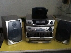 Radio ,cassette and CD player