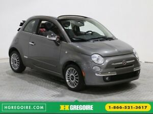 2012 Fiat 500 Lounge Convertible AUTO MAGS AC GR ELECT BLUETOOTH