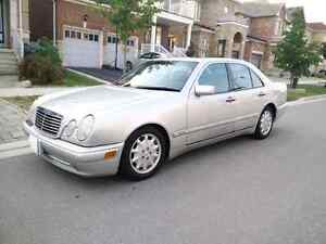 For sale: 1999 Mercedes Benz E430