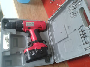 CORDLESS DRILL AND JIGSAW