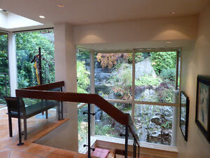 Magnificent Property On the Water on 3 levels with cottage /deck North Shore Greater Vancouver Area image 7
