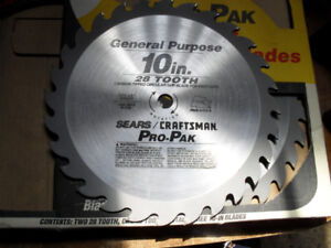 """10""""  28 tooth saw blade new"""