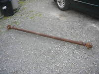 """essieux axel 3500lb For trailer Box about 75"""" wide With bearing"""