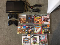Playstation 3 slim with 12 games