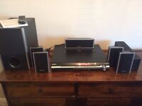 Sony DVD Home Theatre System (with wireless surround)