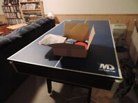 Pool table and Foose Ball Table