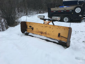 "7'-6"" fisher snow plow minute mount"