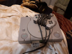 Playstation 1 Console Controller and Memory Card $40 obo