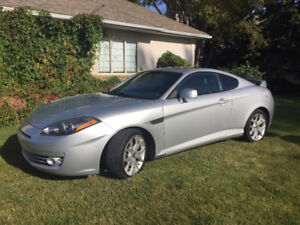 2007 Hyundai Tiburon SE Coupe (2 door) - LOW KMS