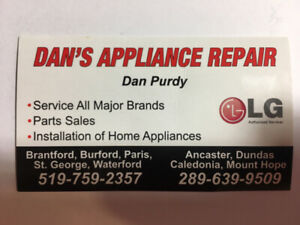 LG Authorized Service Provider - Dan's Appliance Repair