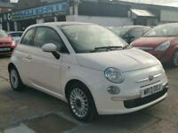 2013 Fiat 500 1.2 Lounge 3dr [Start Stop] HATCHBACK Petrol Manual