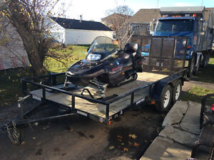 TRAILER & SLED FOR SALE