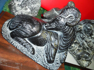Wolf Origonal Carving Collection $400.