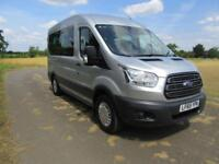 2015 65 FORD TRANSIT 2.2 350 TREND BUS 12 SEAT WITH FORD OPTIONS DIESEL