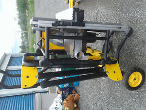 "Dewalt Portable 10"" Table Saw Barely Used in GFW"