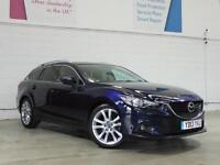 2013 MAZDA 6 2.2d [175] Sport Nav Auto Sat Nav Leather Bluetooth 1 Owner