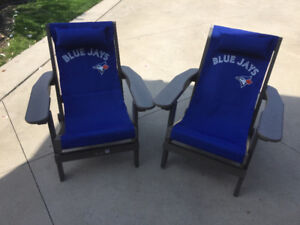 ****Blue Jays Adirondack Chair (Authentic MLB) $100 each****