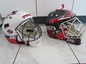 2 Masques de Gardien de BUT Hockey de rue, Street, Ajustable
