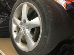 6 Alloy Mazda 6 Rims!