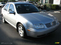 2001 Volkswagen Jetta Sedan only$2600 or best offer 204 999 5636
