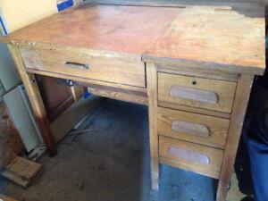 Vintage Oak Desk!