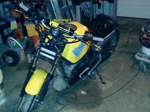 Buell blast 500cc with almost complete second parts bike