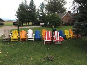 "'THe POLY CHAIR"" /ADIRONDACK POLY CHAIRS GREAT GIFT IDEA"