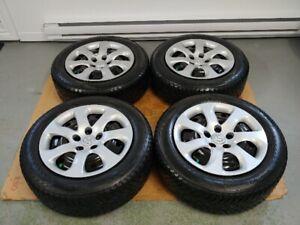 4 pneus d'hiver 205/60/R16 NOKIAN sur jantes 5x114,3 MAZDA3