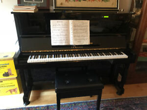 Yamaha SX10RB1 Disclavier player piano with 50 disks full of mus