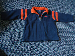 Boys Size 4 Fleece Polo Style Sweater By Children's Place