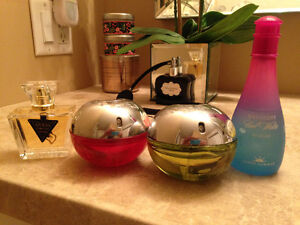 DKNY Delicious/Red Delicious/Davidoff/Katy Perry/ Guess Perfumes