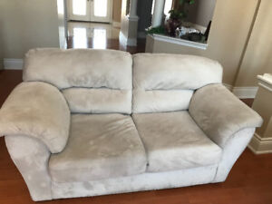 Microfibre Sofa and Loveseat - Free - Pick Up Only 647-739-2023
