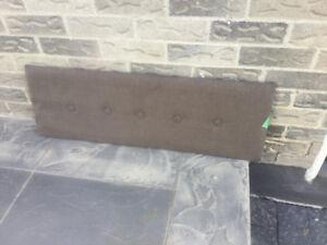 Wall mounted headboard