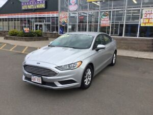 2017 Ford Fusion S  Keyless Start,Back Up Camera,Cruise,Power Wi