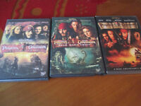 DVD, Movie - Pirates of the Caribbean Lot