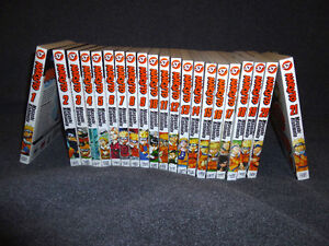 Lot of 21 Naruto in excellent condition!