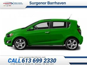 2015 Chevrolet Sonic LT  - one owner - trade-in