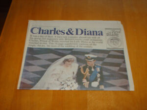 Prince Charles and Diana's Wedding