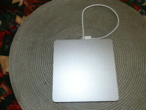 Apple USB SuperDrive with attached USB Type-A Connector cable